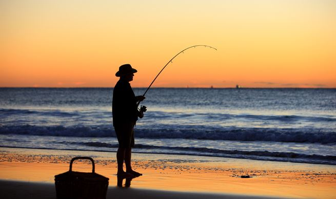 Tide fishing, Queensland Fishing